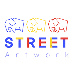Street artwork logo