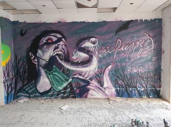 Your face in 2021 malta-sliema-graffiti