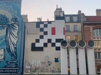 Invader space invader paris