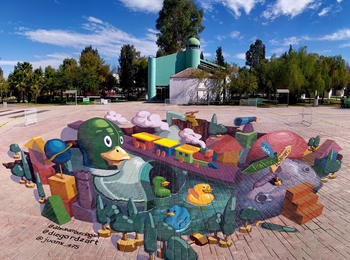 Ducky Lucky mexico-torreon-graffiti