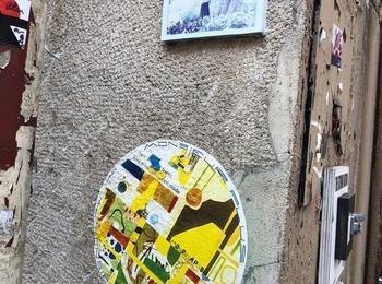 Monsieur plus street art