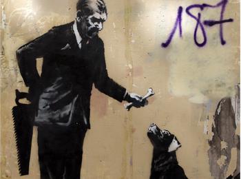 Banksy et A2 france-paris-graffiti