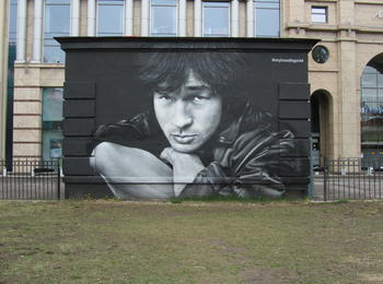 Victor Tsoy, the Russian rock-icon from the 80s