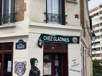 Miss tic et A2 france-paris-graffiti