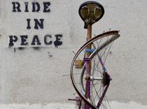 Ride in peace