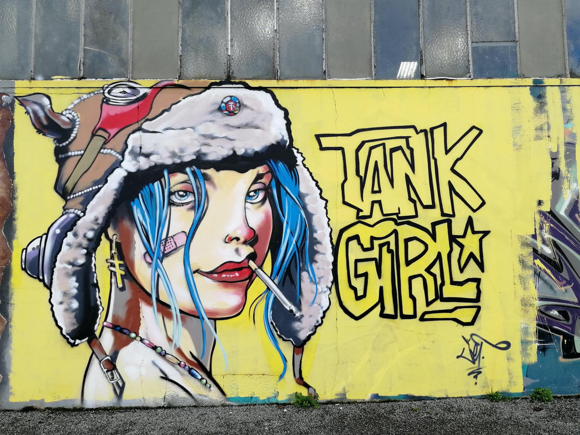 Redon / Jef, Tank girl